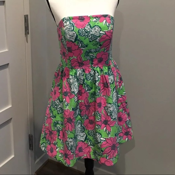 Lilly Pulitzer Dresses & Skirts - Lily Pulitzer Strapless Dress